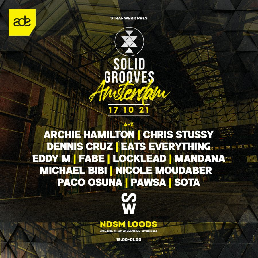 Solid Grooves - LINEUP